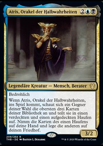 Atris, Orakel der Halbwahrheiten v.1 (Atris, Oracle of Half-Truths)